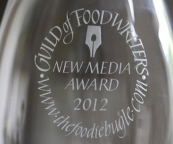 The Foodie Bugle wins The Guild of Food Writers New Media Award 2012