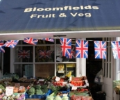Bloomfields greengrocers, The Shambles, Bradford on Avon.