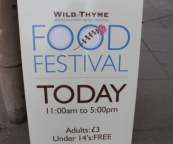 The Wild Thyme Food Festival in the Chipping Norton Town Hall, held on 1st May 2011.
