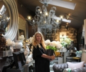 Abigail Ahern in her Islington shop.